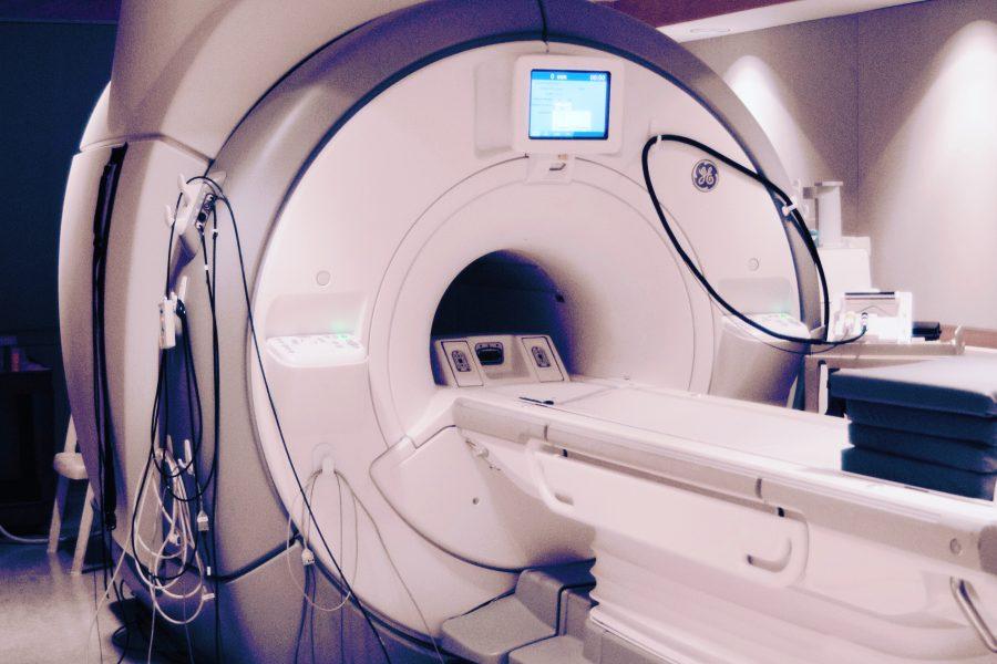 Photo of MRI machine